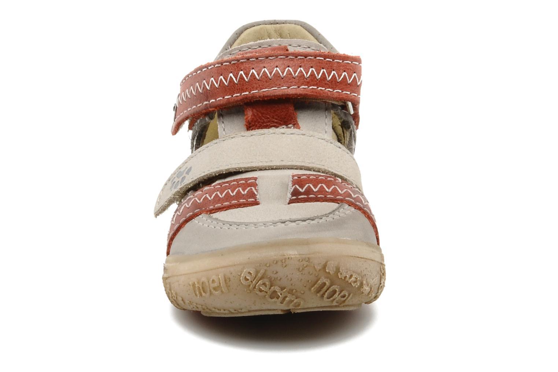 Baskets Noël Mini Rebel Gris vue portées chaussures