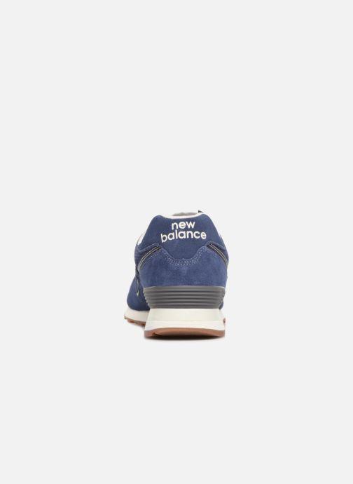 Chaussures de sport New Balance M680 Gris vue droite