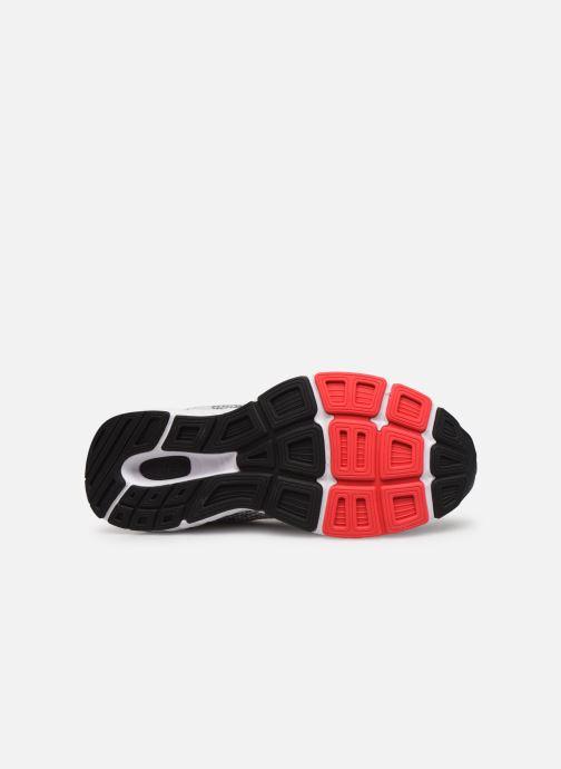 Chaussures de sport New Balance M680 Blanc vue haut