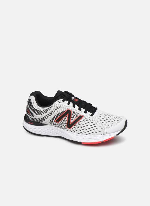 Chaussures de sport New Balance M680 Blanc vue détail/paire