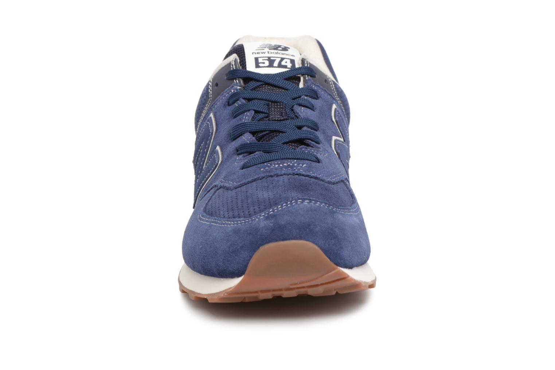 Chaussures de sport New Balance M680 Gris vue portées chaussures
