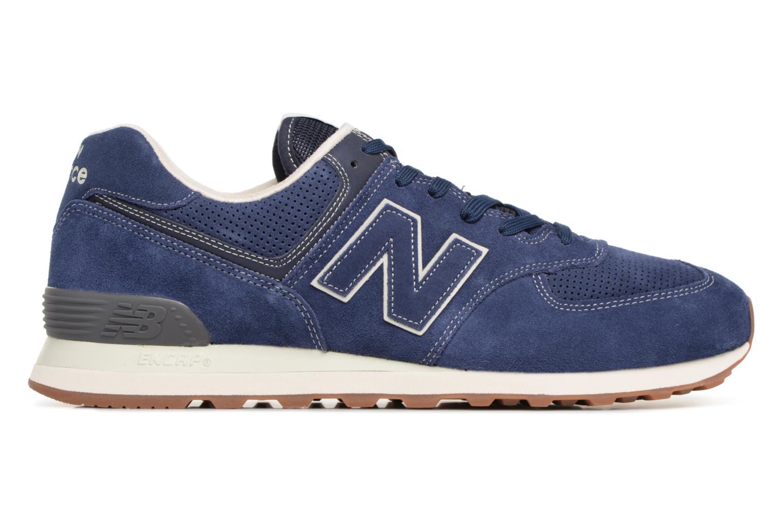 Chaussures de sport New Balance M680 Gris vue derrière