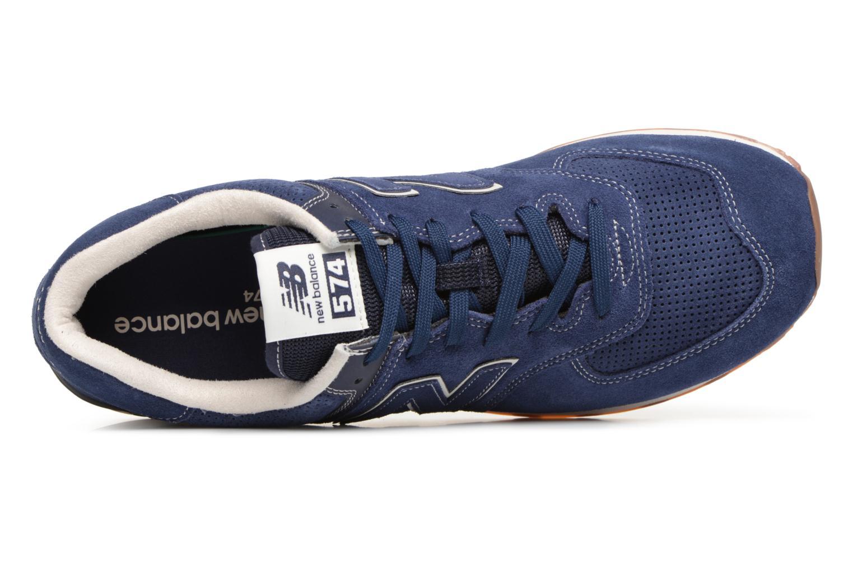 Chaussures de sport New Balance M680 Gris vue gauche