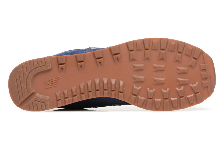 Chaussures de sport New Balance M680 Gris vue haut