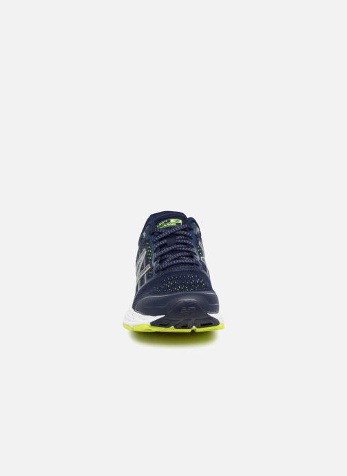 Sportschuhe New Balance W680 blau schuhe getragen