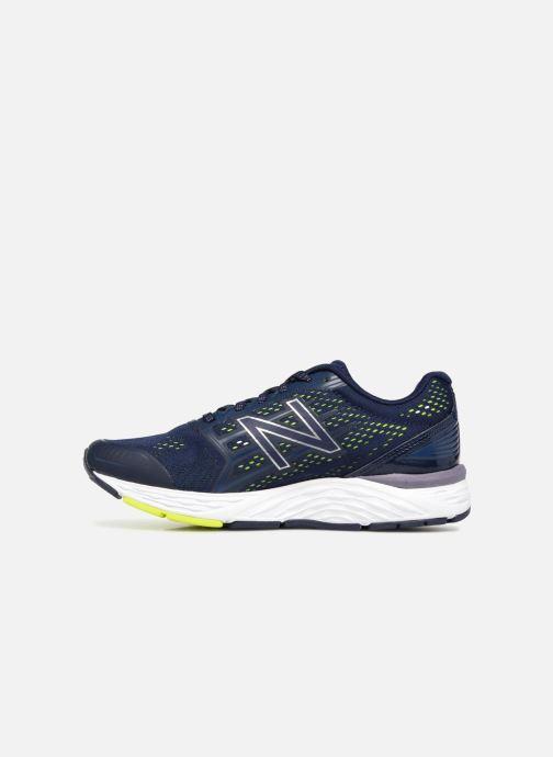 pretty nice bb722 1e5cd Chaussures de sport New Balance W680 Bleu vue face