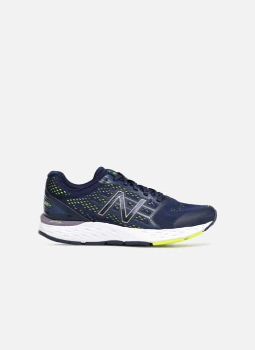 Sport shoes New Balance W680 Blue back view