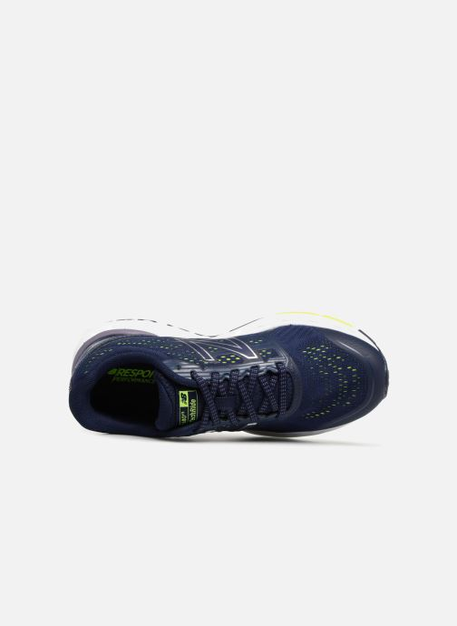 Sportschuhe New Balance W680 blau ansicht von links