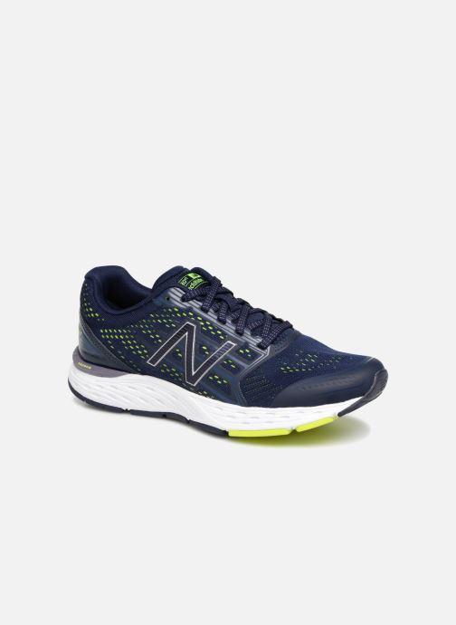 Sportssko New Balance W680 Blå detaljeret billede af skoene