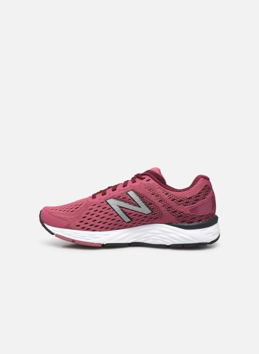 Chaussures de sport New Balance W680 Rose vue face