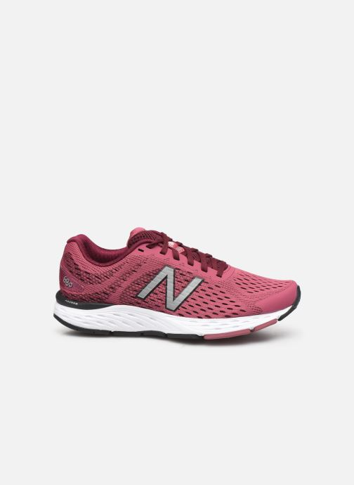 Sport shoes New Balance W680 Pink back view