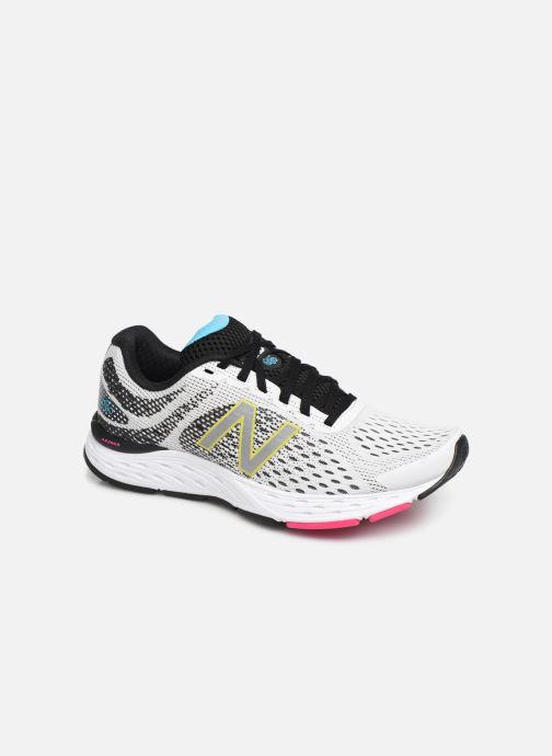 Chaussures de sport New Balance W680 Blanc vue détail/paire