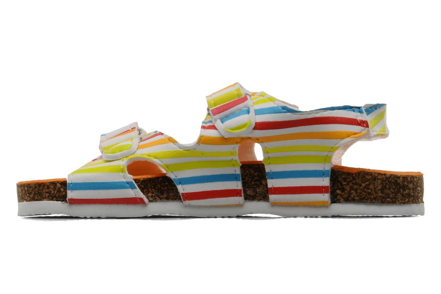 Sandales et nu-pieds Little Marcel Clown Multicolore vue face