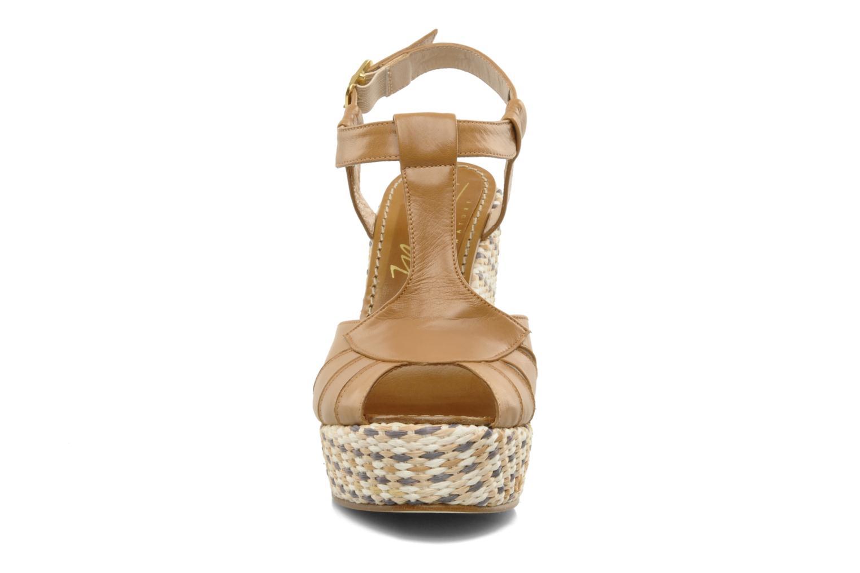 Sandals JB MARTIN Inite Brown model view