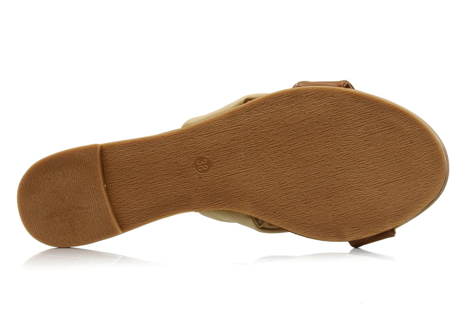 Mules & clogs Chocolate Schubar Abby Beige view from above