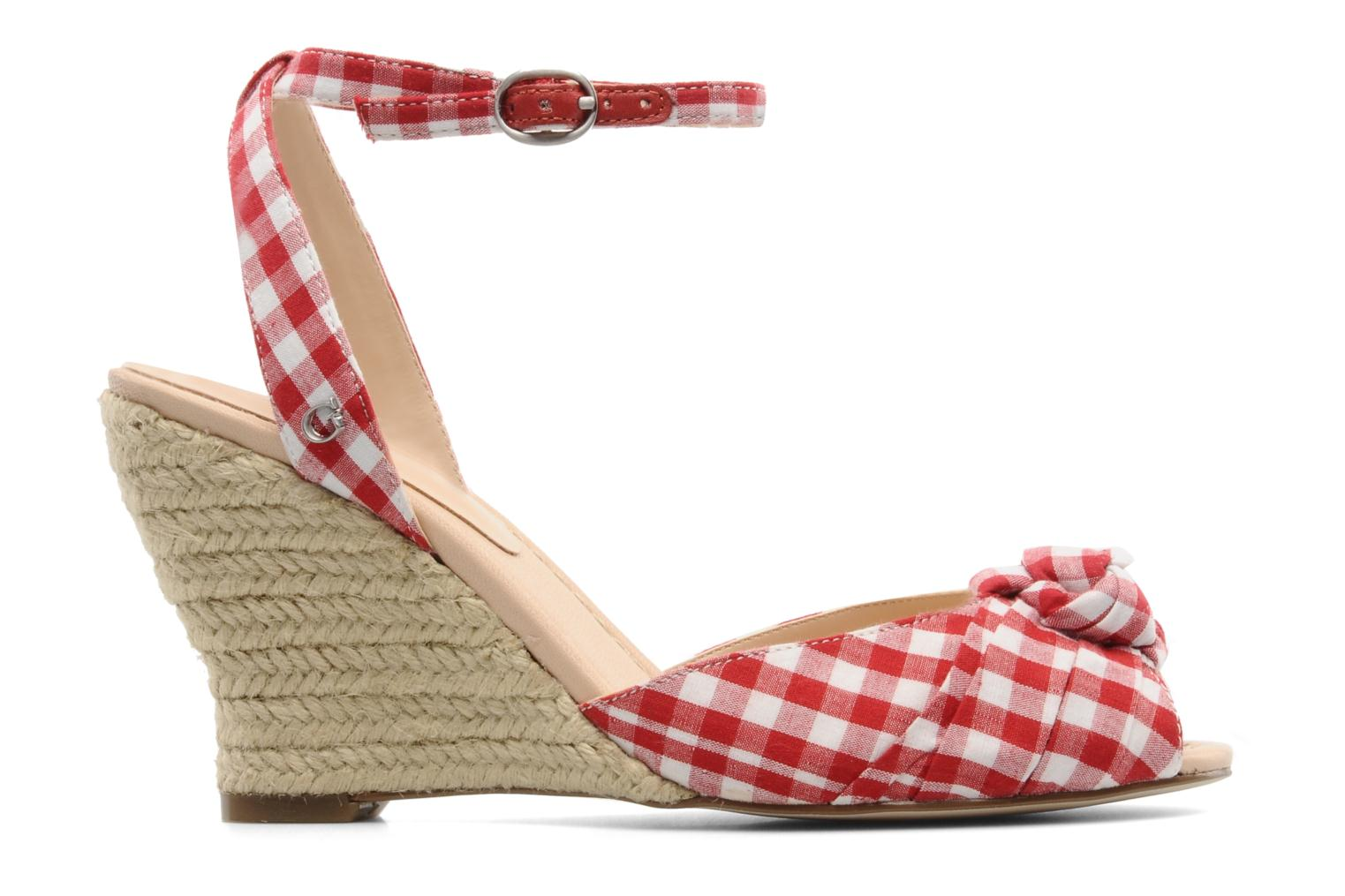 Sandals Guess Abbiel Red back view