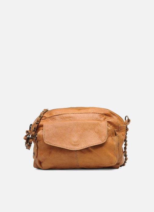 Håndtasker Pieces Naina Leather Crossover Brun detaljeret billede af skoene