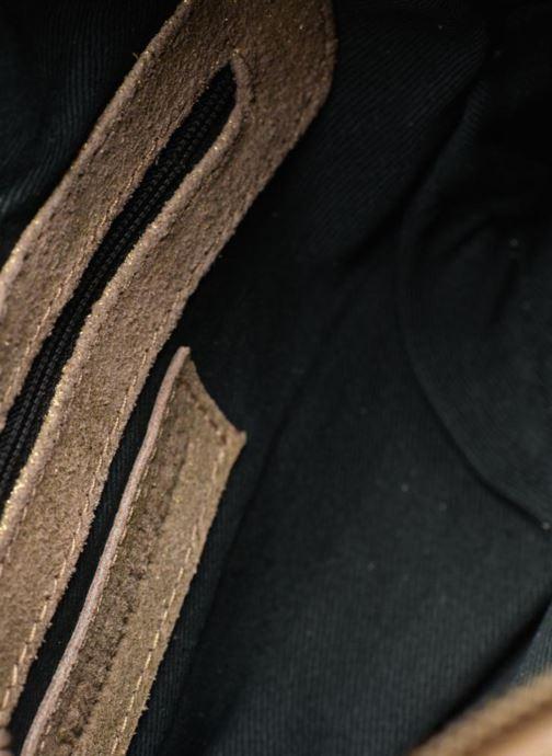 Borse Pieces Naina Leather Crossover Oro e bronzo immagine posteriore