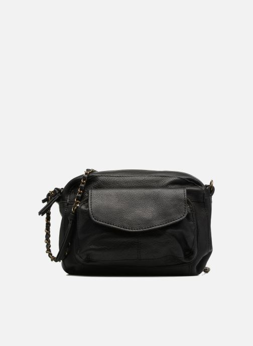 Bolsos de mano Pieces Naina Leather Crossover Negro vista de detalle / par