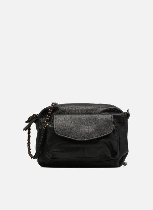 Handtassen Pieces Naina Leather Crossover Zwart detail