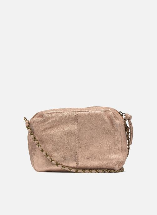 Borse Pieces Naina Leather Crossover Rosa immagine frontale