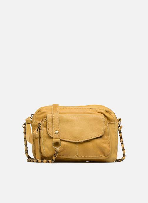 Handtaschen Pieces Naina Leather Crossover gelb detaillierte ansicht/modell