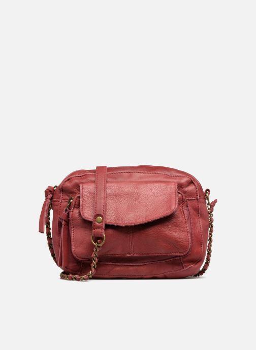 Bolsos de mano Pieces Naina Leather Crossover Vino vista de detalle / par