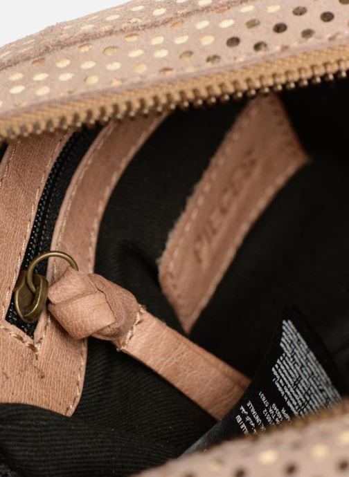 Sacs à main Pieces Naina Leather Crossover Beige vue derrière