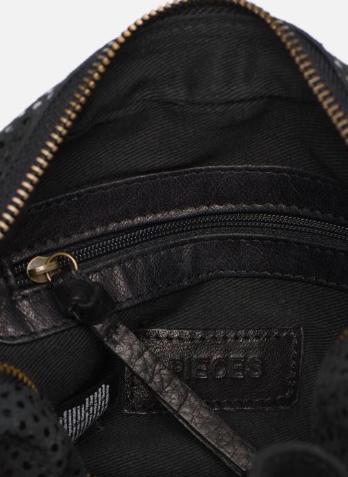 Sacs à main Pieces Naina Leather Crossover Noir vue derrière