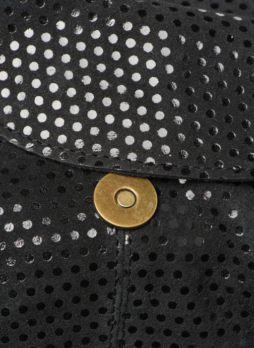 Sacs à main Pieces Naina Leather Crossover Noir vue gauche
