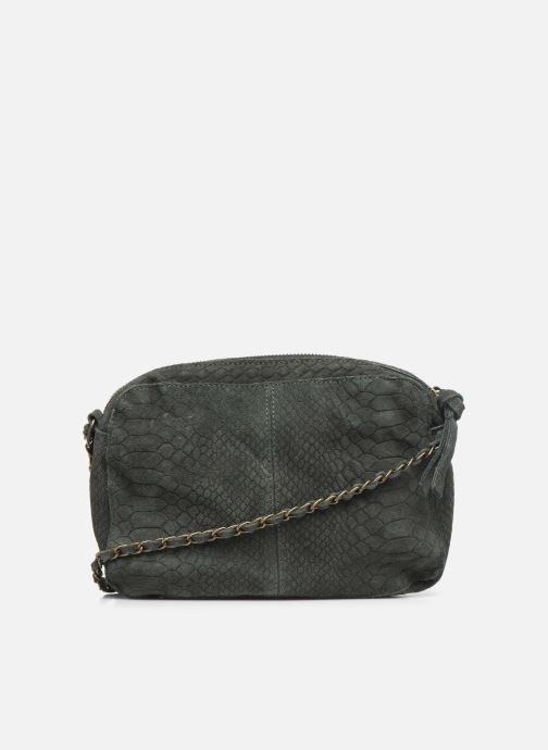 Handtassen Pieces Naina Leather Crossover Groen voorkant