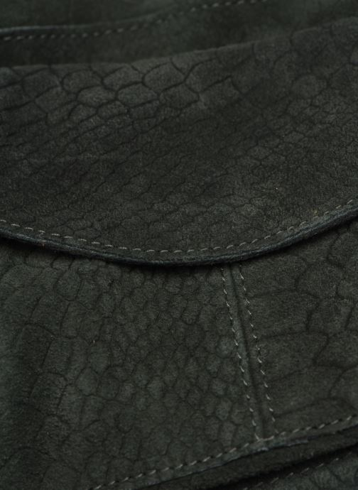 Handtassen Pieces Naina Leather Crossover Groen links