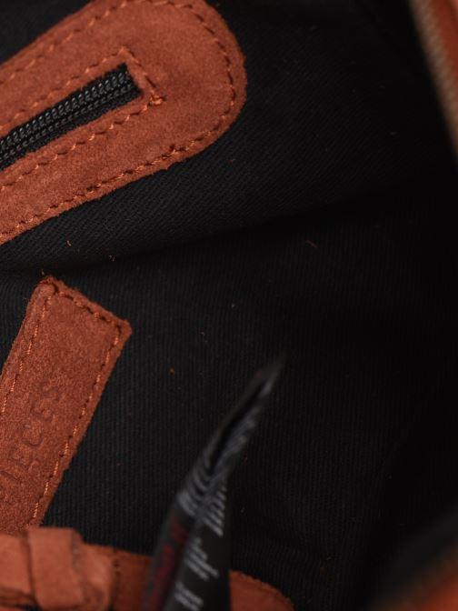 Handtassen Pieces Naina Leather Crossover Oranje achterkant