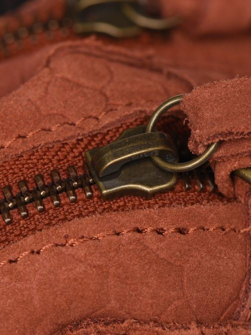 Sacs à main Pieces Naina Leather Crossover Orange vue gauche