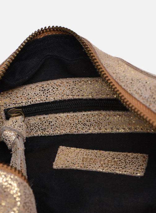 Sacs à main Pieces Naina Leather Crossover Or et bronze vue derrière