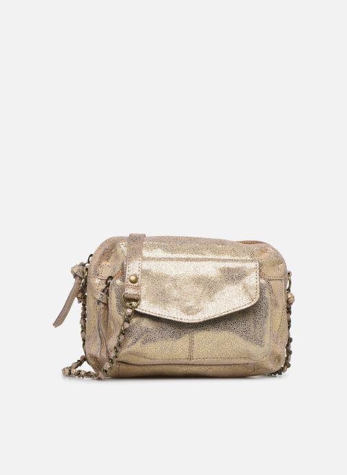 Handtaschen Pieces Naina Leather Crossover gold/bronze detaillierte ansicht/modell