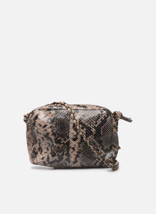 Sacs à main Pieces Naina Leather Crossover Marron vue face