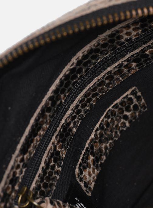 Sacs à main Pieces Naina Leather Crossover Marron vue derrière
