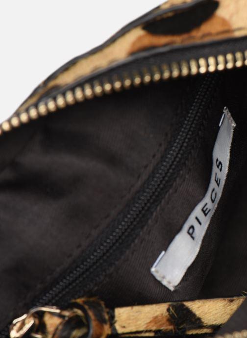 Handtaschen Pieces Naina Leather Crossover braun ansicht von hinten