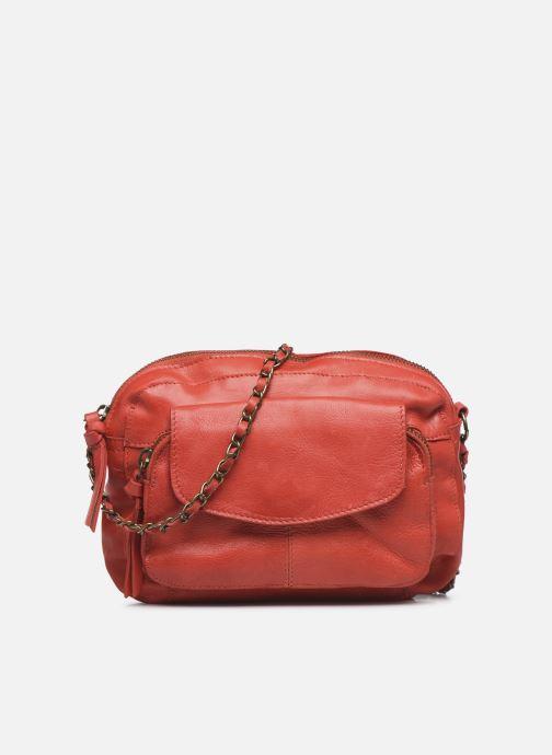 Handtaschen Pieces Naina Leather Crossover rot detaillierte ansicht/modell