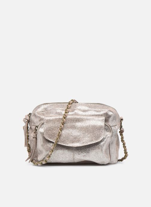 Handtaschen Pieces Naina Leather Crossover silber detaillierte ansicht/modell