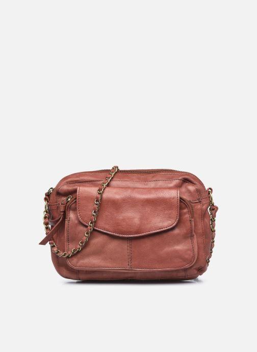 Handtaschen Pieces Naina Leather Crossover orange detaillierte ansicht/modell