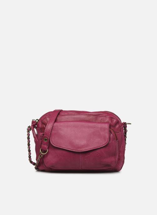 Handtaschen Pieces Naina Leather Crossover lila detaillierte ansicht/modell