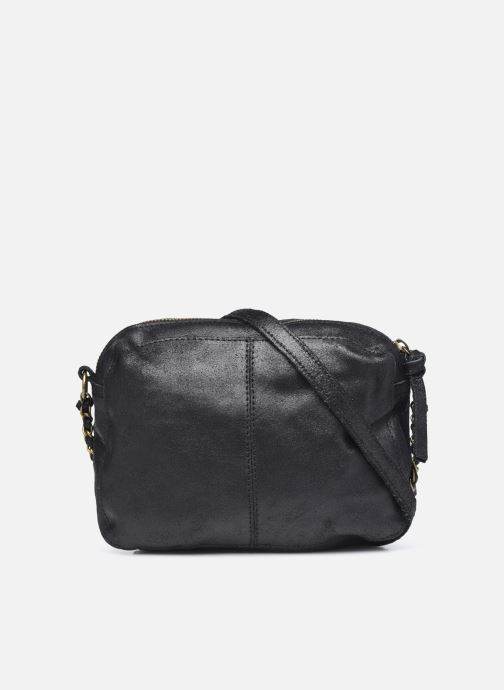 Sacs à main Pieces Naina Leather Crossover Noir vue face