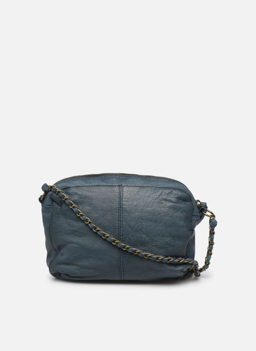 Sacs à main Pieces Naina Leather Crossover Bleu vue face