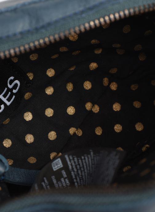 Sacs à main Pieces Naina Leather Crossover Bleu vue derrière