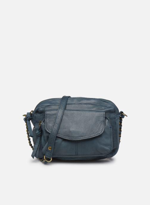 Sacs à main Pieces Naina Leather Crossover Bleu vue détail/paire
