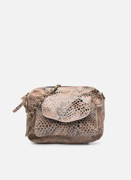 Handtaschen Pieces Naina Leather Crossover braun detaillierte ansicht/modell