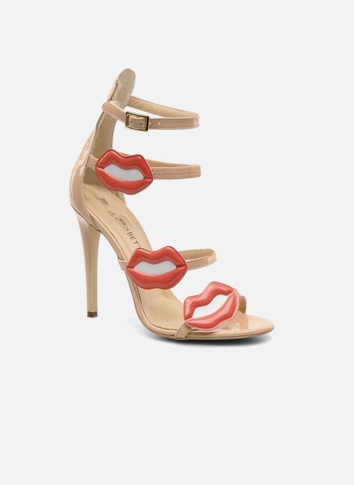 Sandales et nu-pieds Paul & Betty PrettyLips bis Beige vue détail/paire
