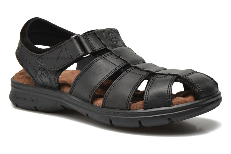 Sandales et nu-pieds Panama Jack Sherpa Noir vue détail/paire
